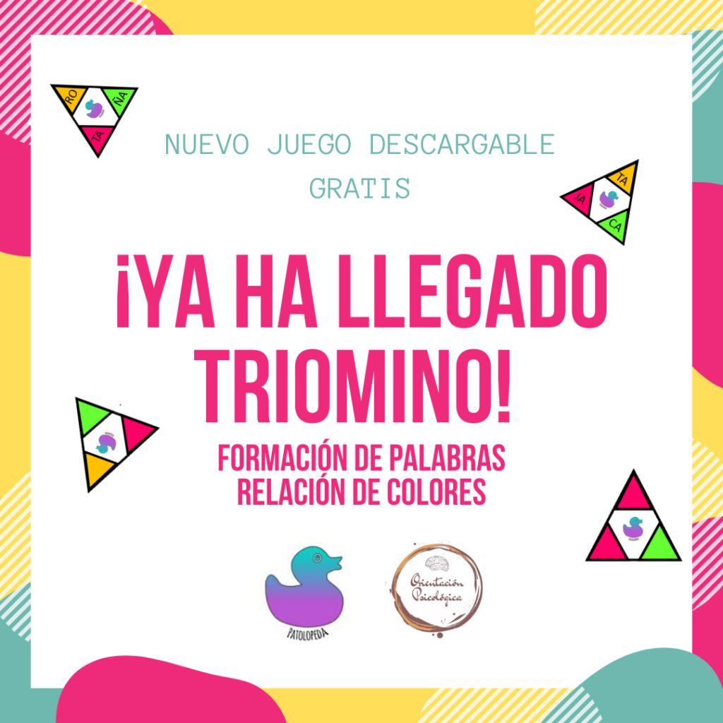 ¡Ya ha llegado EL TRIOMINO FORMACIÓN DE PALABRAS RELACIÓN DE COLORES (2)-min